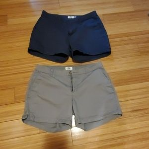 2 for $15 Old Navy Womens Shorts Size 8